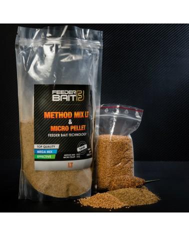 Zanęta Feeder Bait Method Mix LT 800g + micro pellet  200g