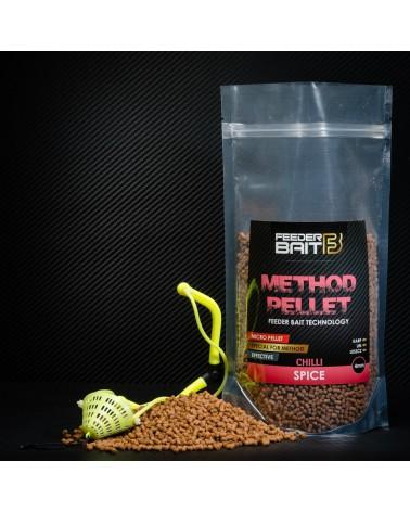 Pellet Feeder Bait Spice Chilli pikantny 4mm 800g