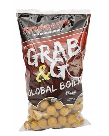 Kulki proteinowe Starbaits Grab&Go Global Banan Cream 20mm 1kg