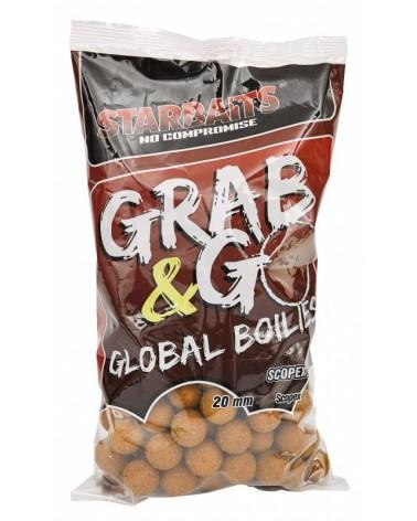 Kulki proteinowe Starbaits Grab&Go Global Scopex 20mm 1kg