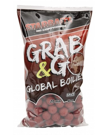 Kulki proteinowe Starbaits Grab&Go Global Spice 20mm 1kg