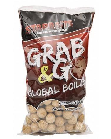 Kulki proteinowe Starbaits Grab&Go Global Squid&Octopus 20mm 1kg