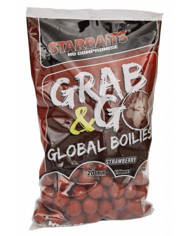 Kulki proteinowe Starbaits Grab&Go Global Strawberry Jam 20mm 1kg