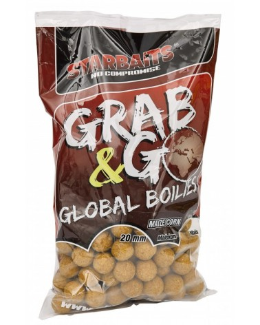 Kulki proteinowe Starbaits Grab&Go Global Sweet Corn 20mm 1kg