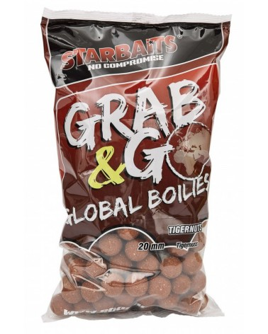 Kulki proteinowe Starbaits Grab&Go Global Tigernut 20mm 1kg