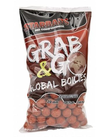 Kulki proteinowe Starbaits Grab&Go Global Tutti Frutti 20mm 1kg