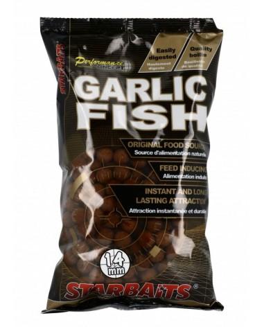 Kulki proteinowe Starbaits Concept Garlic Fish 14mm 1kg