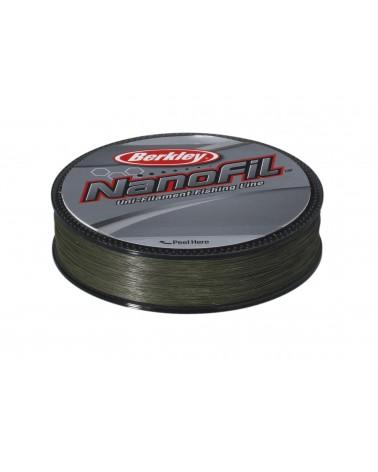 Plecionka Berkley Nanofil LV Green 0,17mm 125m - zielona