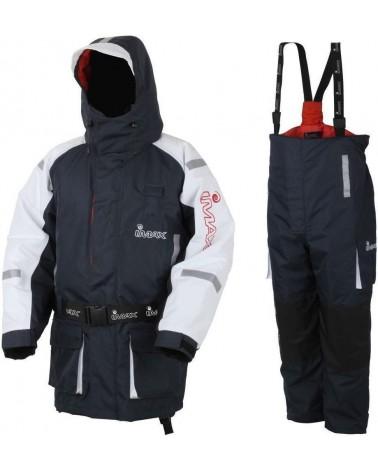 Kombinezon Imax Coastfloat Floatation Suit L Blue/White-2Psc